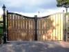 thumbs 8 Mediniai kiemo vartai – medžio masyvo kiemo vartai