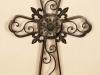thumbs 17 Metaliniai kalviški kryžiai, saulutės, žvakidės, kapų tvorelės
