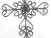 thumbs 7 Metaliniai kalviški kryžiai, saulutės, žvakidės, kapų tvorelės