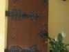 thumbs 9 Medinės durys su metalo ornamentais